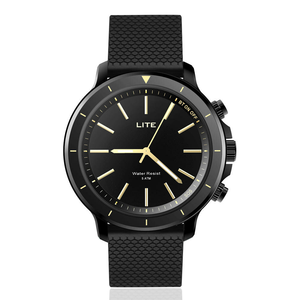 Zeblaze VIBE LITE 5ATM Waterproof SOS Calorie Sport Target BT4.0 Quartz Smart Watch