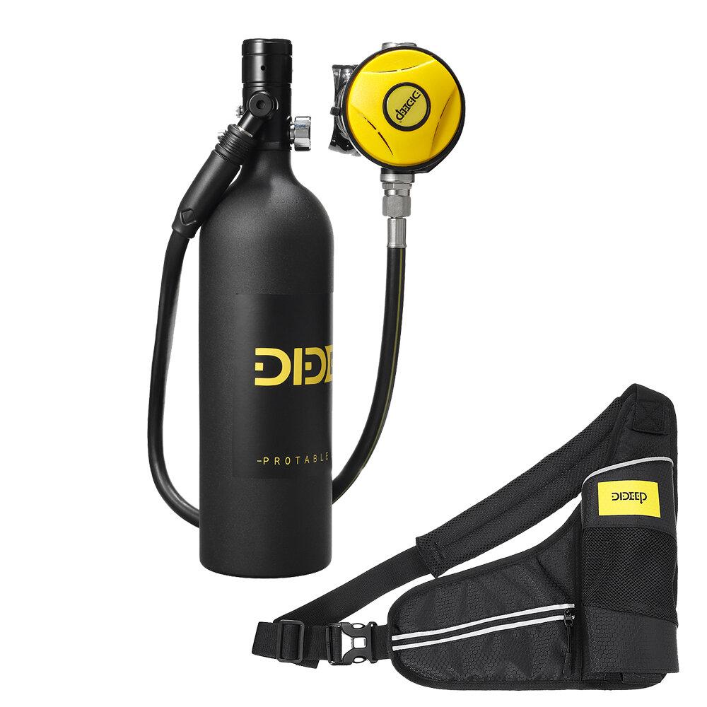 DIDEEP X4000 Pro 1L Mini SCUBA Tank Набор для дайвинга Цилиндр кислородный баллон Подводное оборудование для дыхания сво