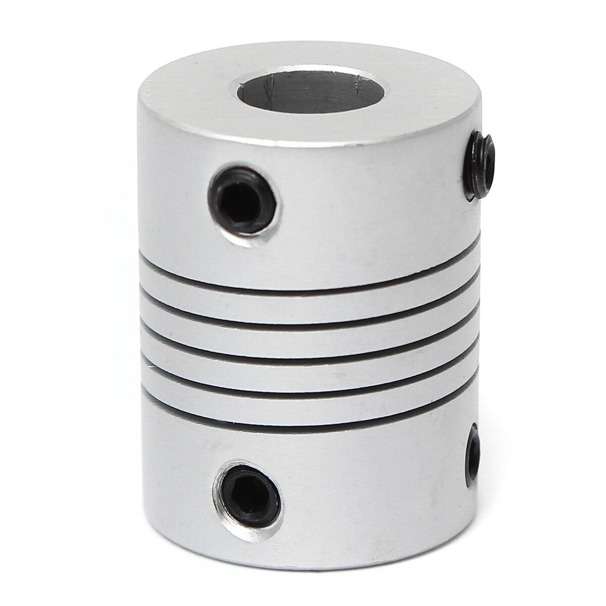 Aluminum Flexible Shaft Coupler Coupling 5mm to 8mm