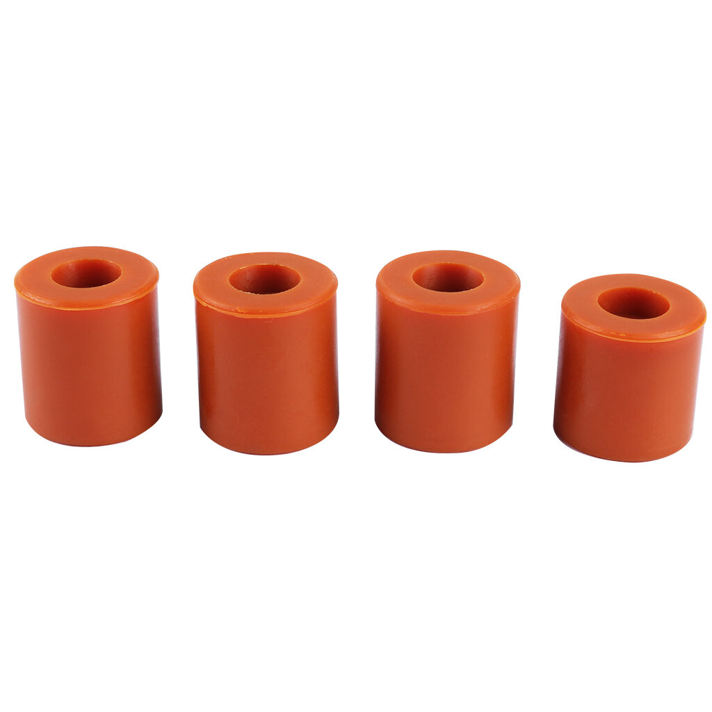 4pcs/pack 18mm*3 + 16mm*1 Silicone Shock Absorbed Heated Bed Solid Bed Mount Leveling Column For CR10/Ender-3 Creality 3
