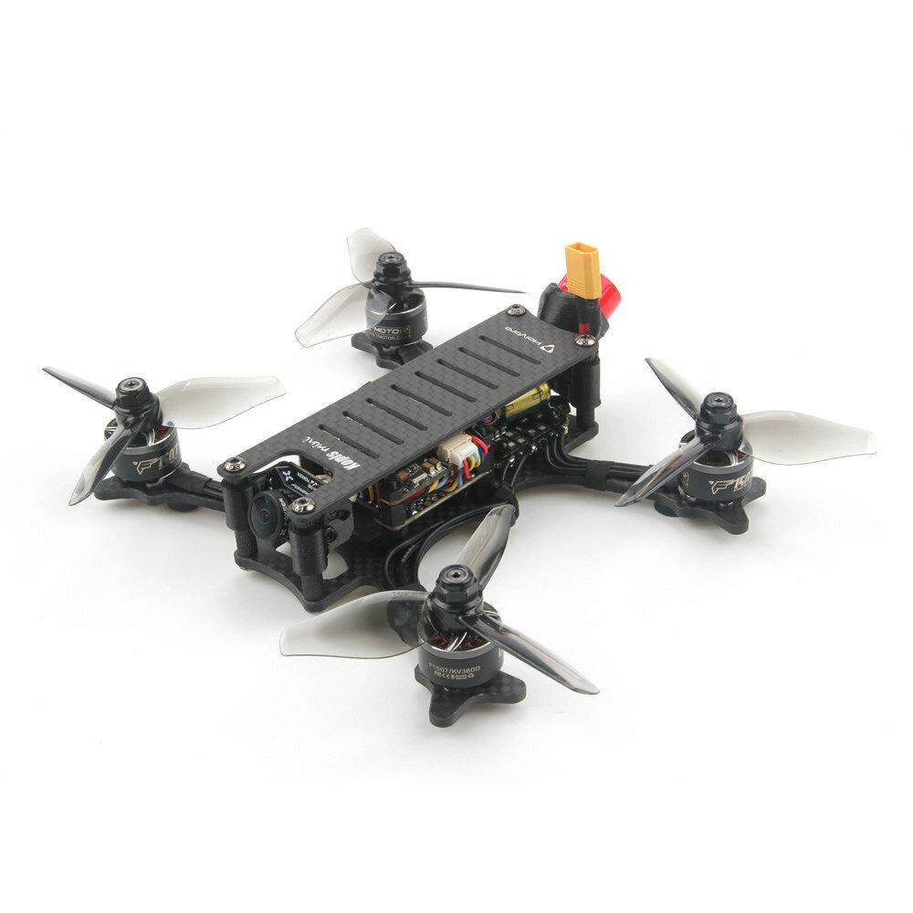 Holybro Kopis Mini Analog VTX Version 148.6mm F7 3 Inch FPV Racing Drone PNP BNF w/ Foxeer Micro Razer Camera - Frsky R-XSR Receiver