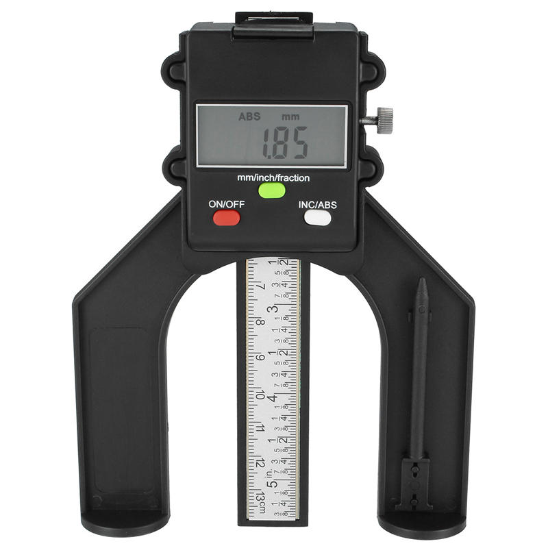 80mm Digital Gauge Magnetic Feet LCD Height Caliper for Woodworking Measuring