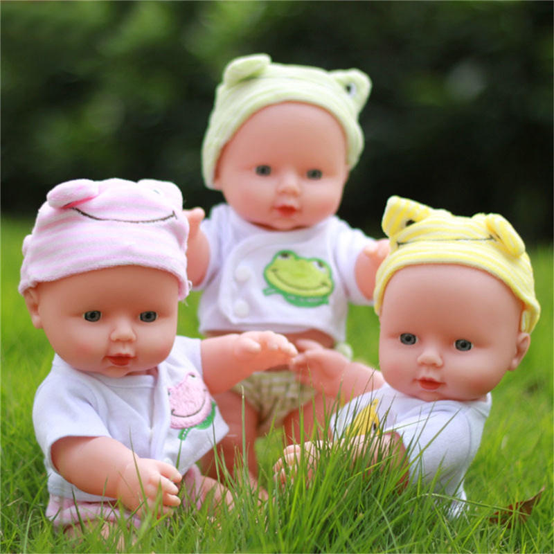 30CM Newborn Baby Doll Gift Toy Soft Vinyl Silicone Lifelike Newborn KidsToddler Girl