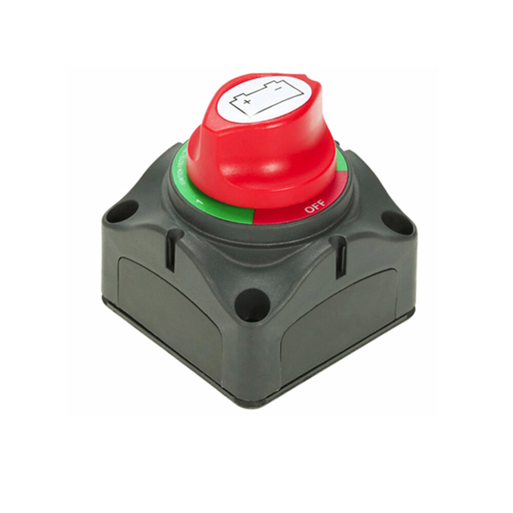 BSET MATEL 12V 24V 1000A Dual Battery Selector Isolator Master Power Switch 4 Position for Marine Boat Car RV