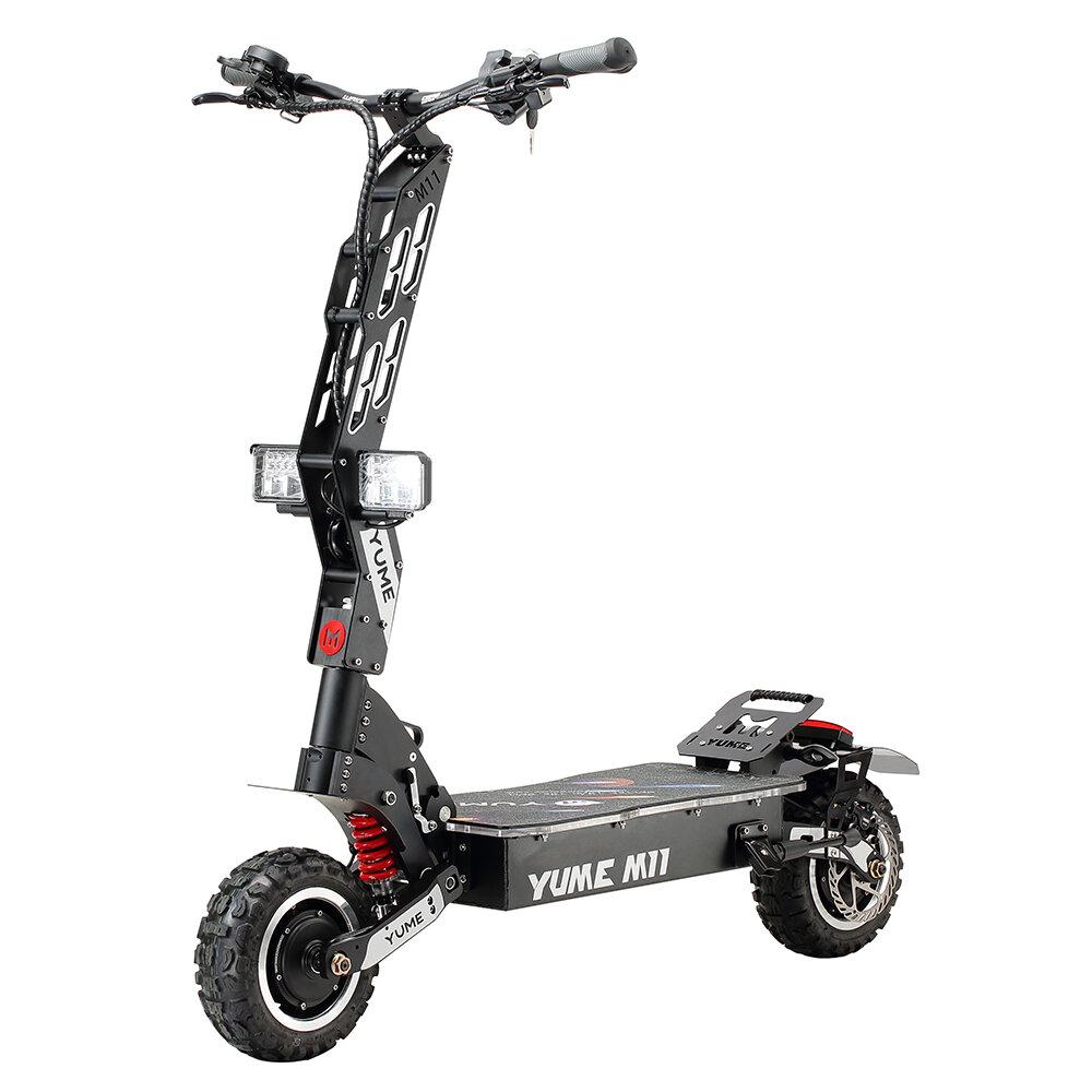 [EU DIRECT] YUME M11 6000W 60V 35Ah 11 Inch Electric Scooter 80km/h Max Speed 95Km Mileage 150Kg Max Load