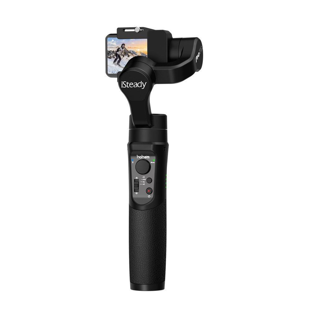 Hohem iSteady Pro 2 Upgraded Handheld Gimbal 3 A.xis Stabilizer for ALL Action Camera DJI OSMO Action Camera GoPro Hero 6/5/4/3 Sony RX0 SJCAM YI Eken Firefly Gopro Akaso