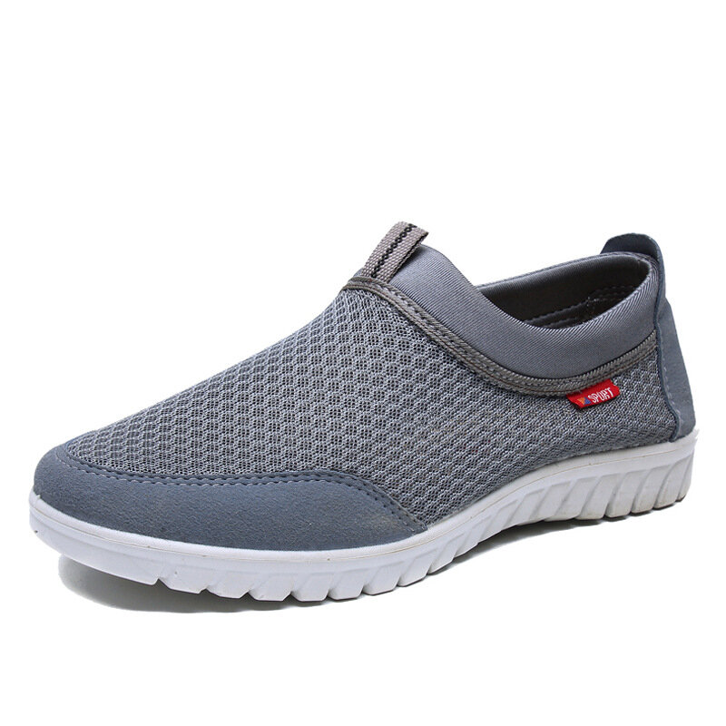 Breathable Mesh Casual Soft Walking Sneakers