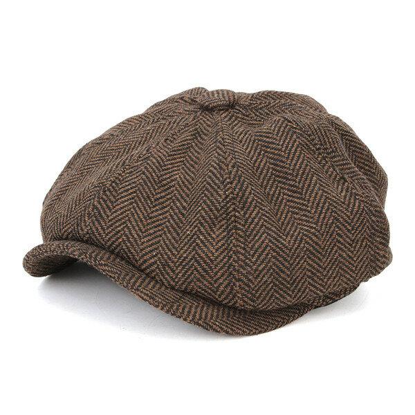 גברים Visor צמר מיזוג blbens ברט כובעים חוצות מקרית חורף CABie Ivy Flat Hat