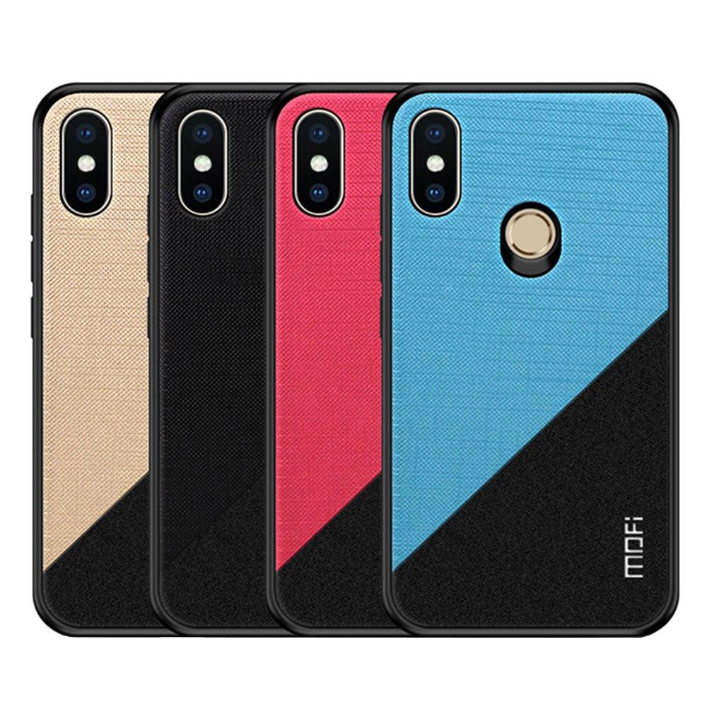 Mofi Shockproof Anti-slip PC + TPU Back Cover Protective Case for Xiaomi Redmi Note 6 Pro Non-original  - buy with discount