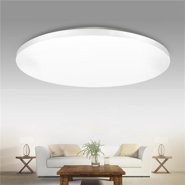 12w 1000lm Led Flush Mount Ceiling Light Round Ultrathin Fixture For Kitchen Bedroom Ac110v 240v