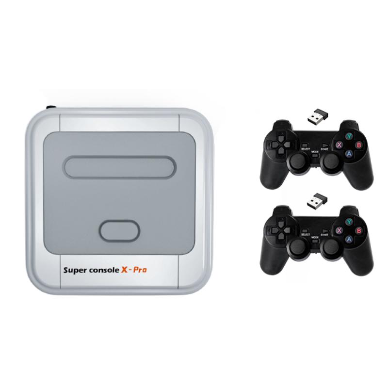 Banggood coupon: Super Console X Pro Amlogic S905X Wireless TV Game Console 64GB 128GB 50000+ Games Player TV Caixa 4K HD para PSP PS1 N6