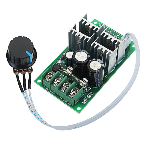 DC 6-60V 30A PWM DC Motor Speed Regulator High Power Speed Controller 6V 12V 24V 36V 48V 60V Support PLC Analog Quantity 0-5V Geekcreit for Arduino - products that work with official Arduino boards