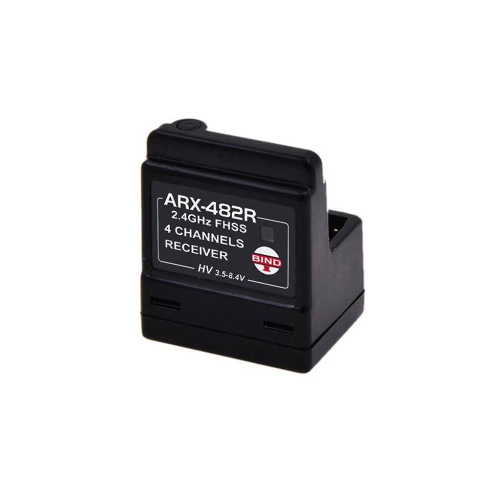 AGF ARX-482R 2.4Ghz 4CH Vertical Type FHSS Compatible Receiver for Rock Crawler Truck Rc Car