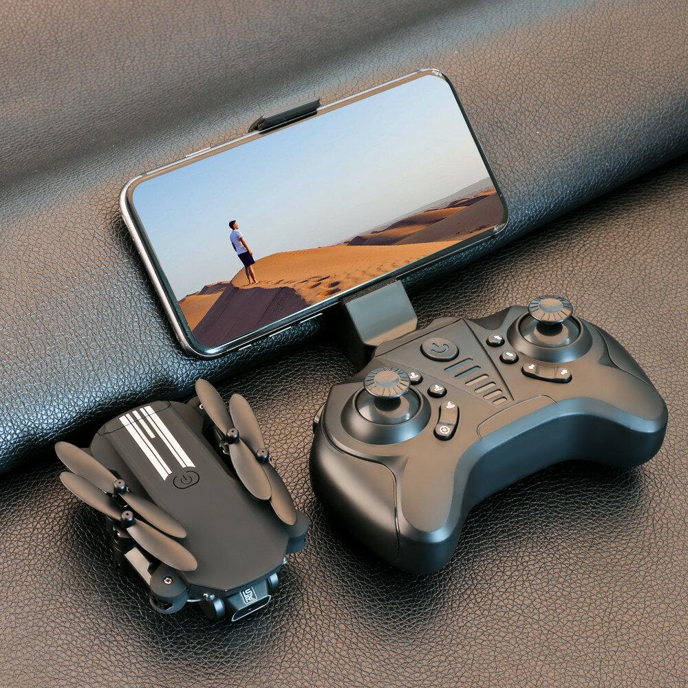 LS-MIN Mini WiFi FPV with 4K/1080P HD Camera Altitude Hold Mode Foldable RC Drone