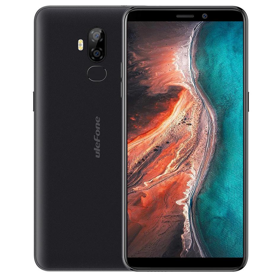 Ulefone P6000 Plus 6.0 pollici doppio posteriore fotografica 6350mAh Batteria 3 GB RAM 32GB rom MT6739 Quad nucleo 4G Smartphone