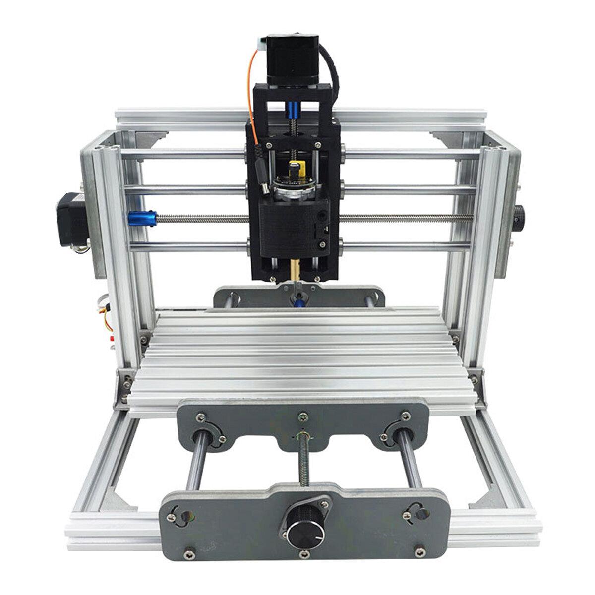 2417 3 Axis Mini DIY CNC Router Wood Craving Engraving Cutting Milling  Desktop Engraver Machine 240x170x65mm