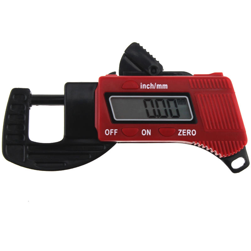 ANENG 12.7mm Digital Thickness Gauge Mini Dial Thickness Meter Carbon Fiber Composite Width Measurement Tool
