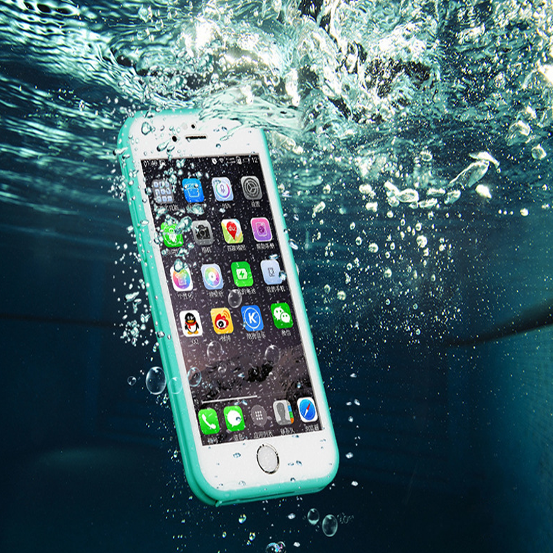GP Ultra Thin TPU Waterproof Shockproof Touch Screen Sleeve For iPhone 6 Plus 6S Plus 5.5 Inch