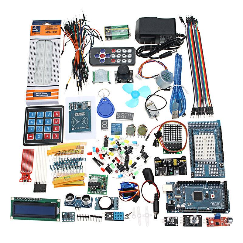 Geekcreit® Mega 2560 De meest complete ultieme startkits voor Arduino Mega2560 UNOR3 Nano