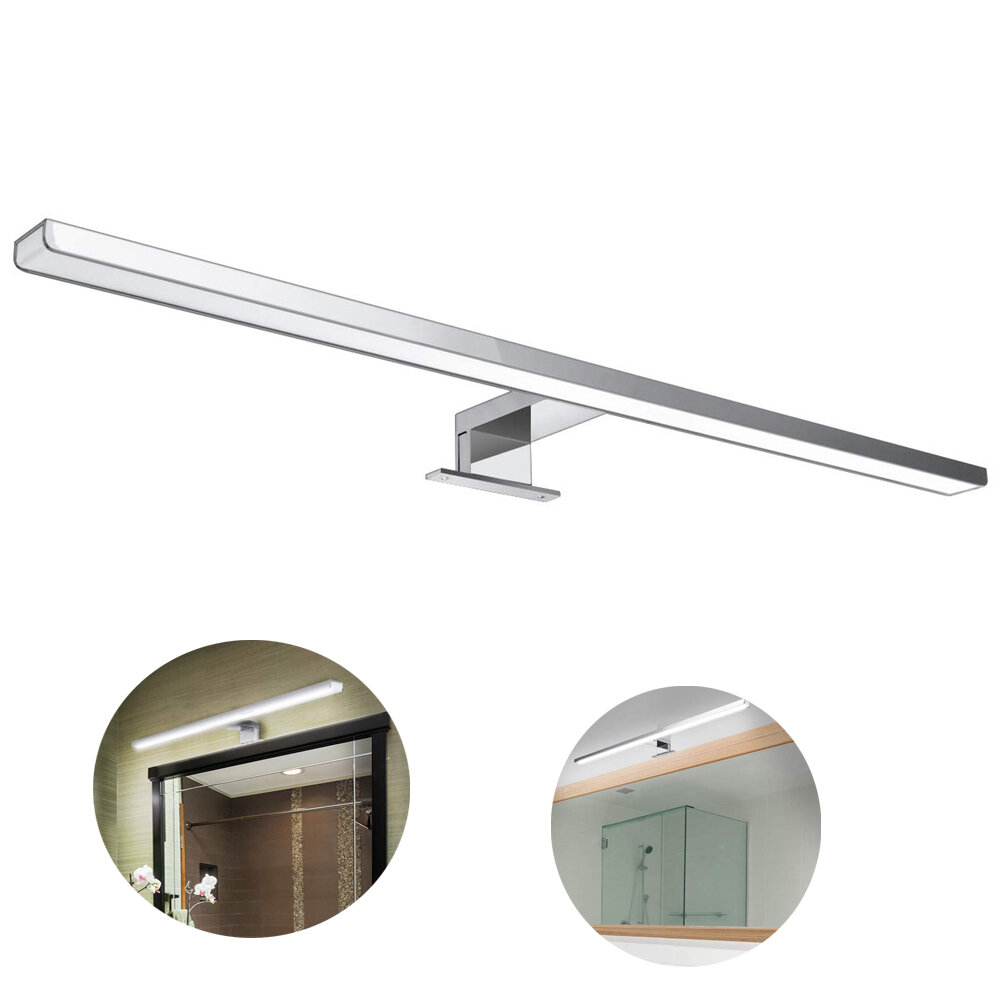10w 800lm 60cm Bathroom Mirror Wall Light For Bathroom Home Waterproof Ip44 Aluminum Lamp