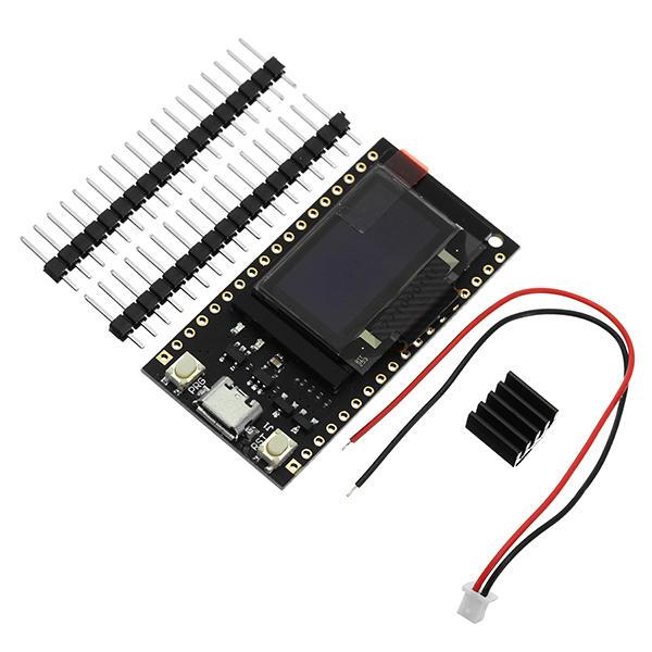 LILYGO® TTGO 16M bytes (128M Bit) Pro ESP32 OLED V2 0 Display WiFi  +bluetooth ESP-32 Module For Arduino