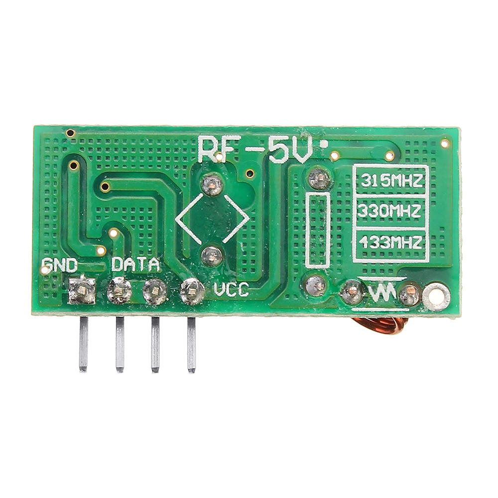 5Pcs 433Mhz Wireless RF Transmitter and Receiver Module Kit For MCU