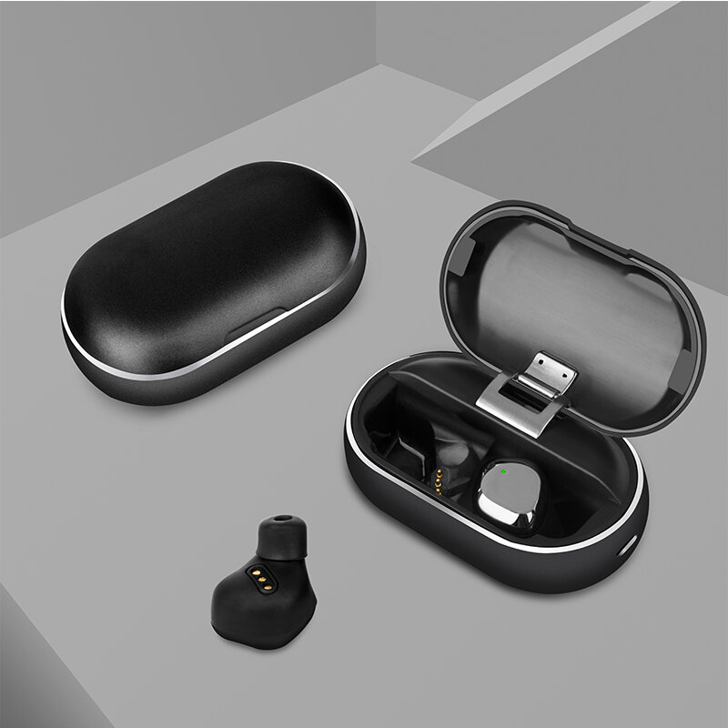 Bakeey X26 TWS bluetooth 5.0 True Wireless Earbuds Smart Touch Waterproof Stereo Hifi Earphone With Metal Charging Box for Iphone Xiaomi