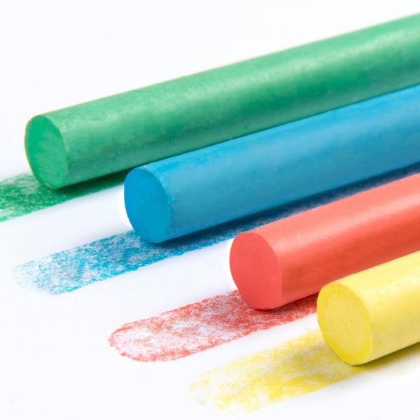 Mideer Dust-free Chalk Water-soluble For Children's Chalk Multi-function Palm Billiard Chalk In Nursery 12 Pcs фото