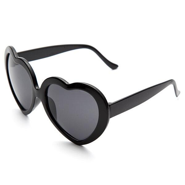 Retro Funny Love Heart Shape Anti-UVA And UVB Sunglasses, Banggood  - buy with discount