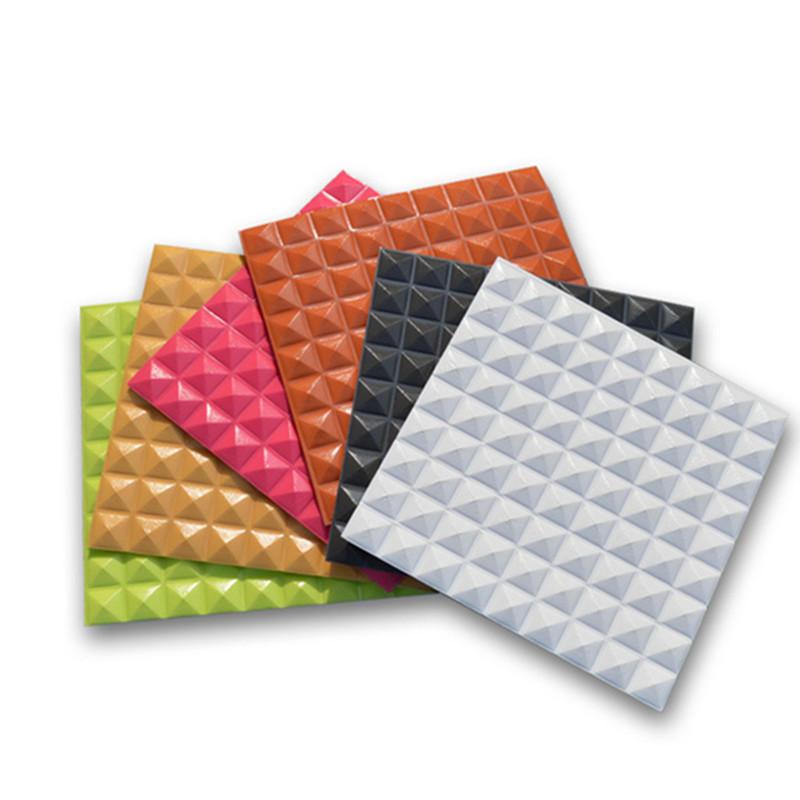 30*30cm PE Foam Self-adhesive Waterproof 3D Tile Brick Wall Sticker