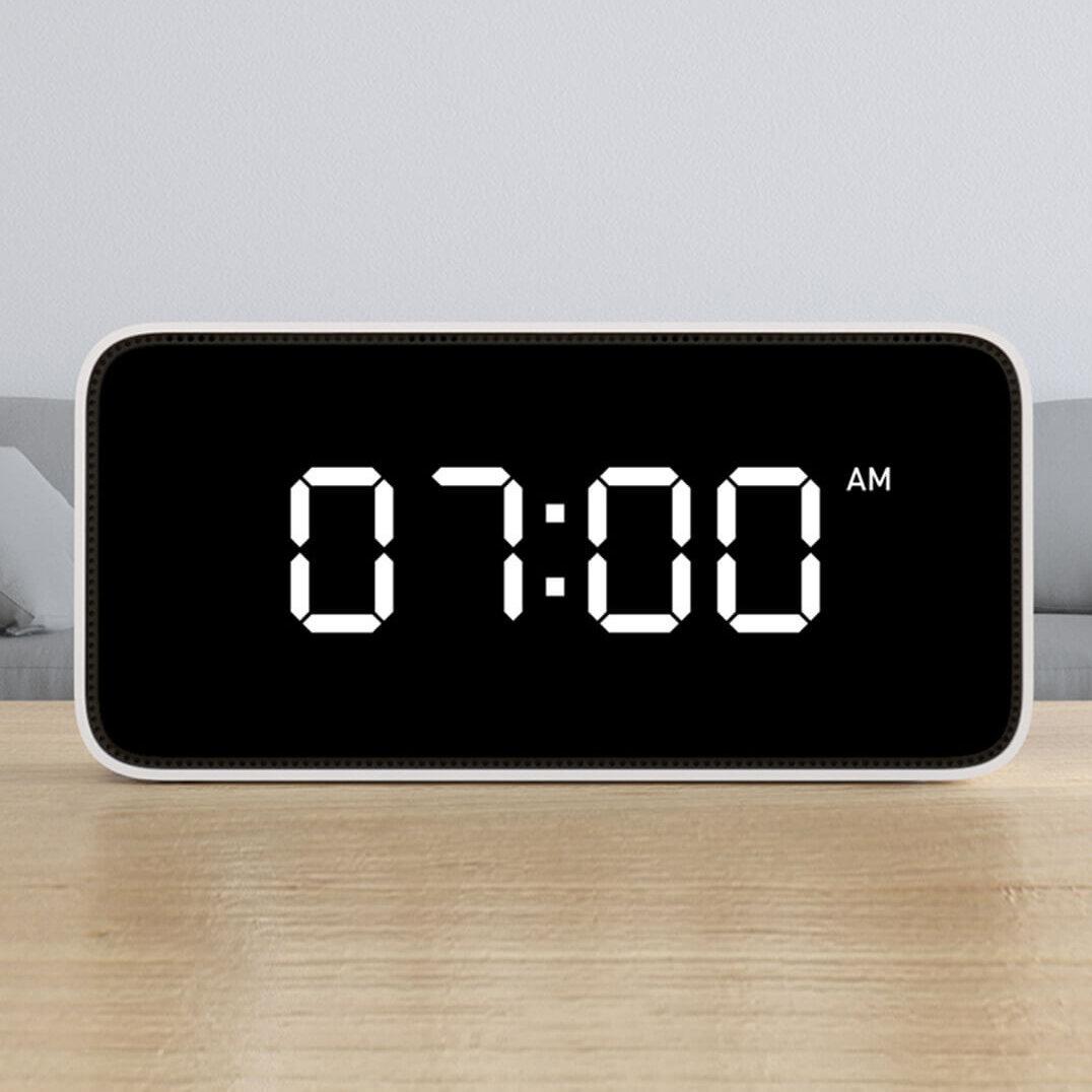 Xiaoai Voz inteligente APLICACIÓN Control Alarma de transmisión del tiempo Reloj Xiaomi AI Altavoz de Xiaomi Youpin
