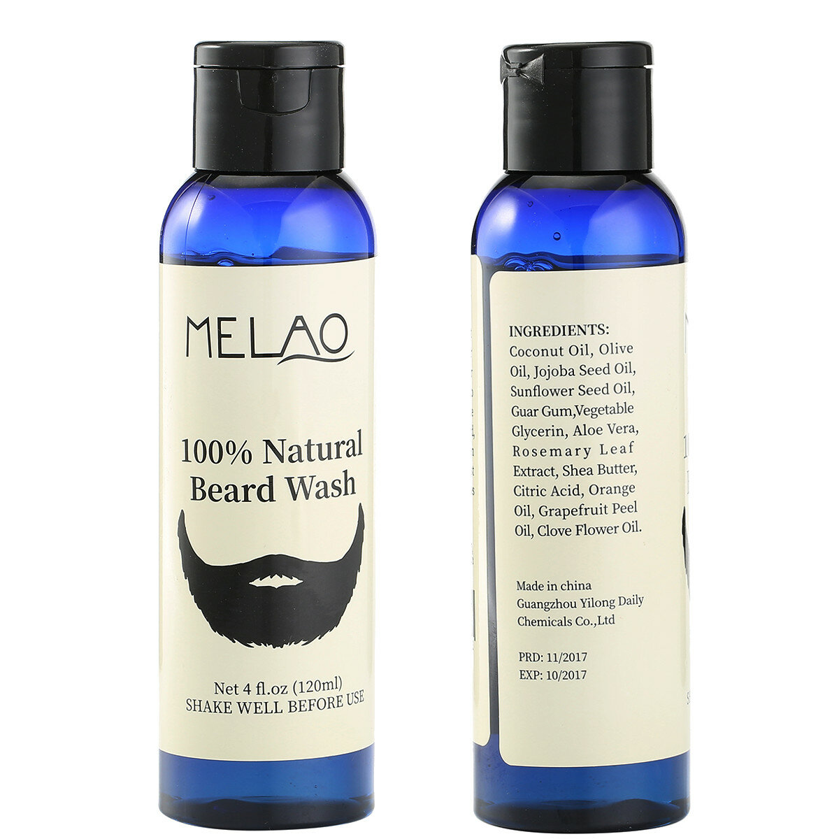 Melao Beard Wash Shampoo Cleans Conditions Eliminates Bacteria Natural  Mustache Enhancing
