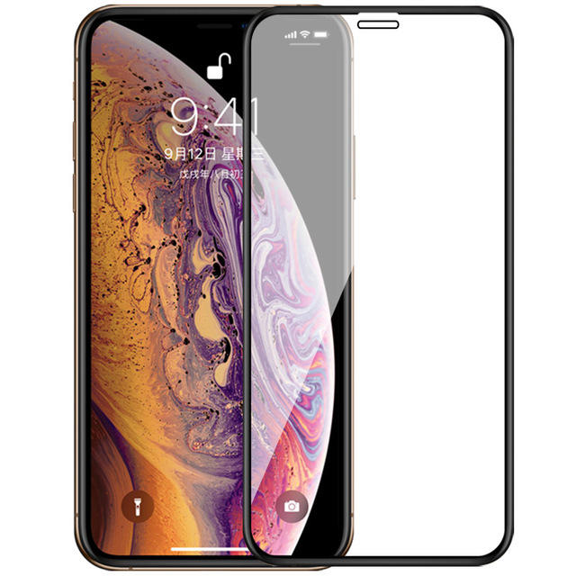 Bakeey Upgrade 2.5D Curved Edge Silk Tempered Glass Screen Protector For iPhone X/XS/XR/XS Max