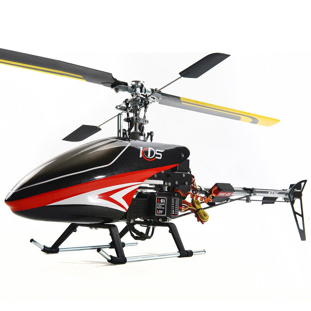KDS 450SV FBL 6CH 3D Flying  Belt Drive Alloy Version RC Helicopter DIY Kit