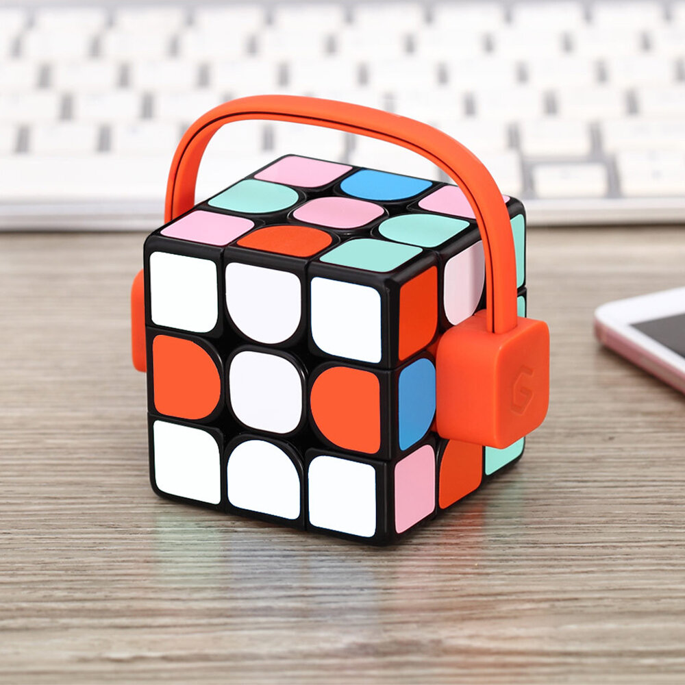 Giiker Super Square Magic Cube Smart App Real-time Synchronization Science Education Toy from xiaomi youpin