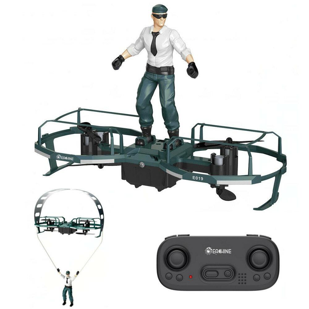 Eachine E019 2-Axis RC Stunt Paraglider Flight Mode Altitude Hold Mode Drone Quadcopter RTF