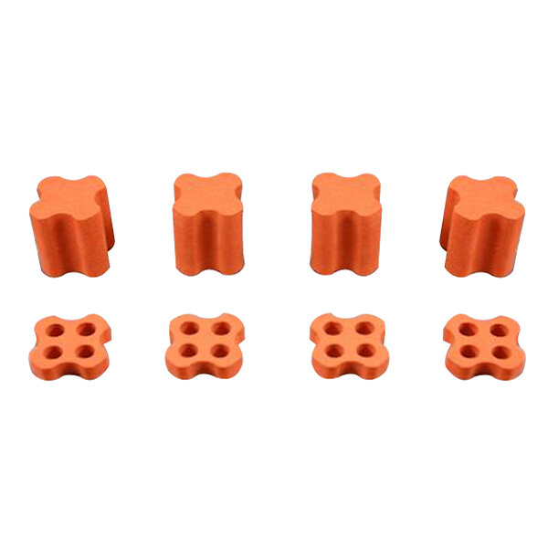 8 PCS EVA Sponge Vibaration Isolation Soft Mount for 1102-1106 Motor for RC Multirotor FPV Racing Drone
