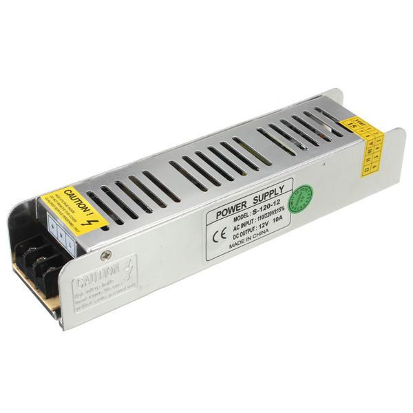 Mini 120W Switching Power Supply 85-265V to 12V 10A for LED Strip Light