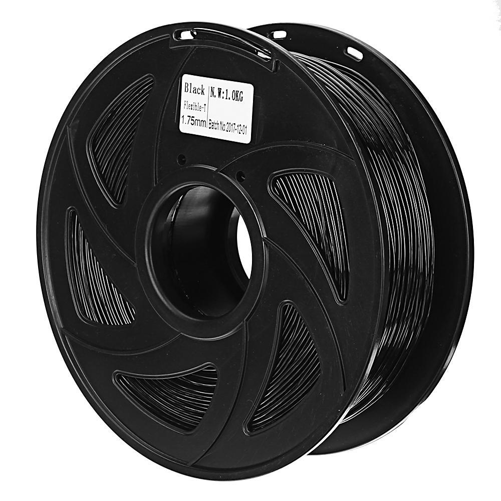 e1a5337c4cd Creality 3D® 1.75mm 1KG/roll Black Color TPU Flexible Filament For 3D  Printer/3D Pen/Reprap/Makerbot COD