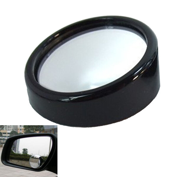 Two Small Raised Face Round 360 Degrees Mirror Rotatable Widen Sight фото