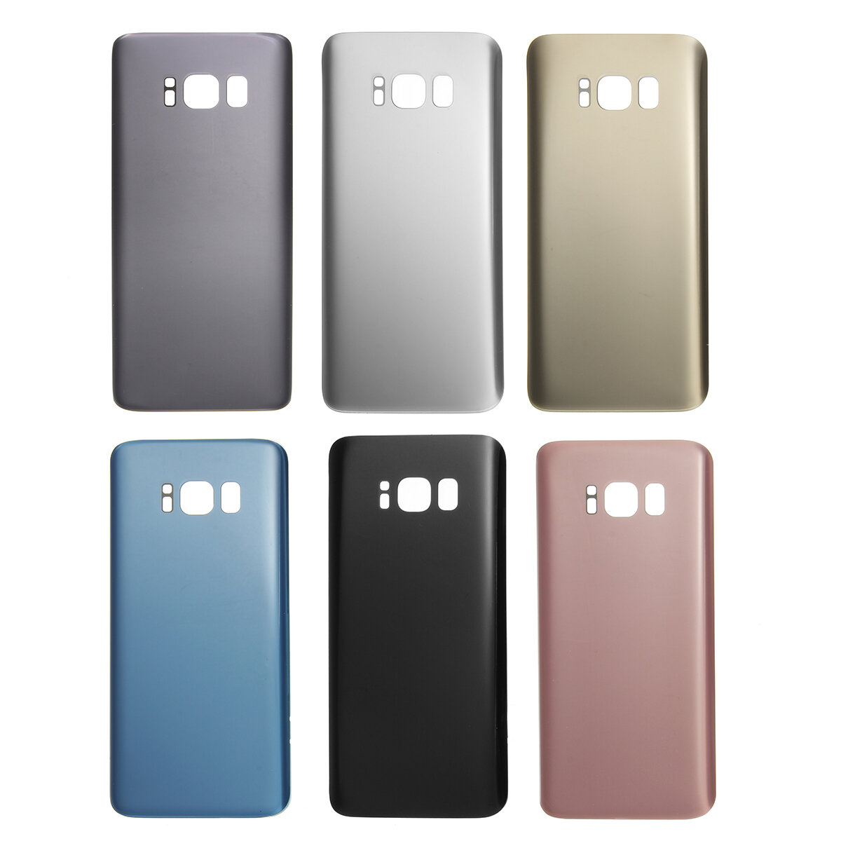 sale retailer 40fec e3286 Rear Back Glass Battery Cover Replacement for Samsung Galaxy S8
