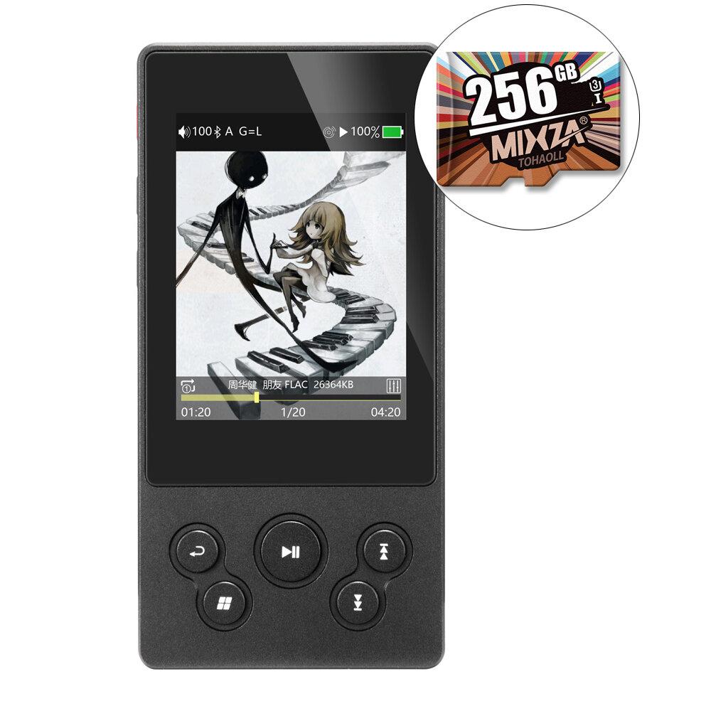 Xduoo X3II 2.4 Inch IPS Screen bluetooth 4.0 DSD DAC HIFI Lossless Music MP3 Player