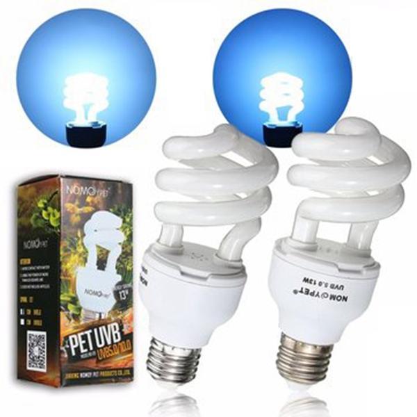 Reptiel 5.0 10.0 UVB 13W Compact Light Fluorescent Desert Terrarium Lamp Bulb 110-240V