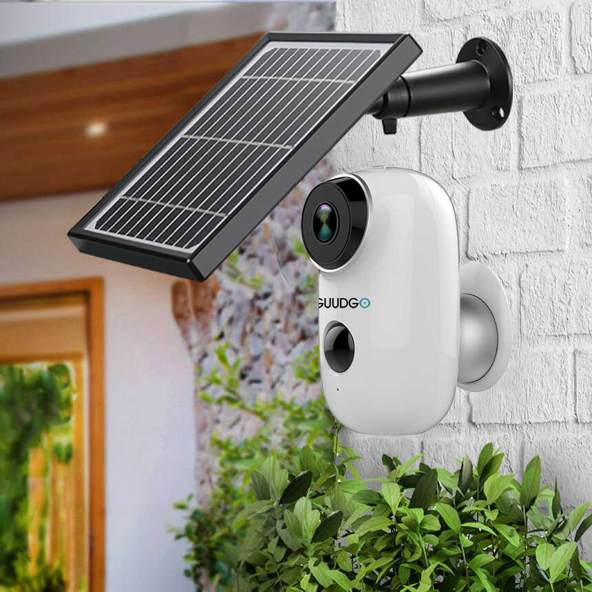 GUUDGO A3 Solar Panel Wireless IP Camera [EU]