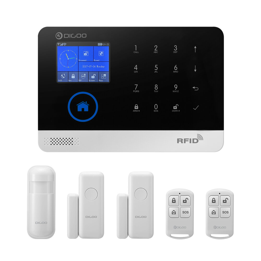 Smart Home Security Alarm Syst...