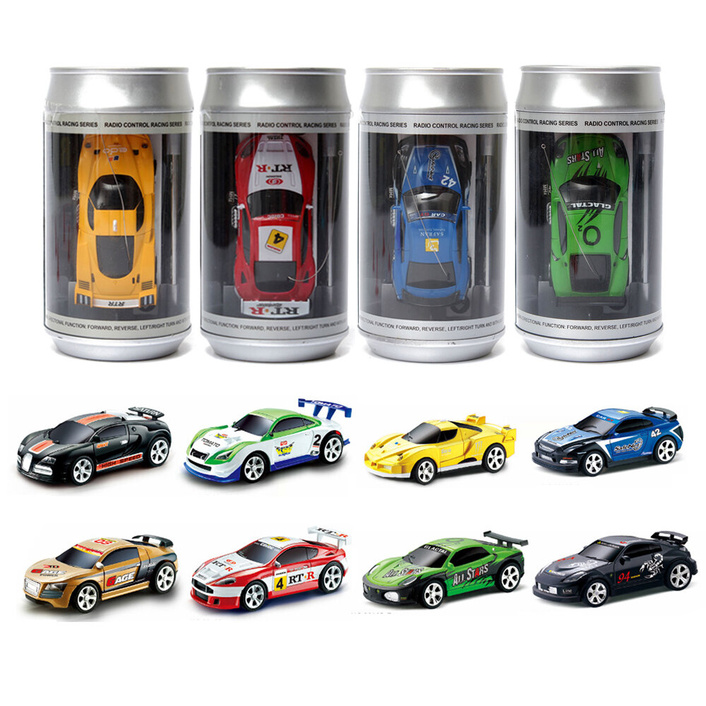 Coke Can Mini Radio Remote Control Micro Racing Rc Car Sale Banggood Com