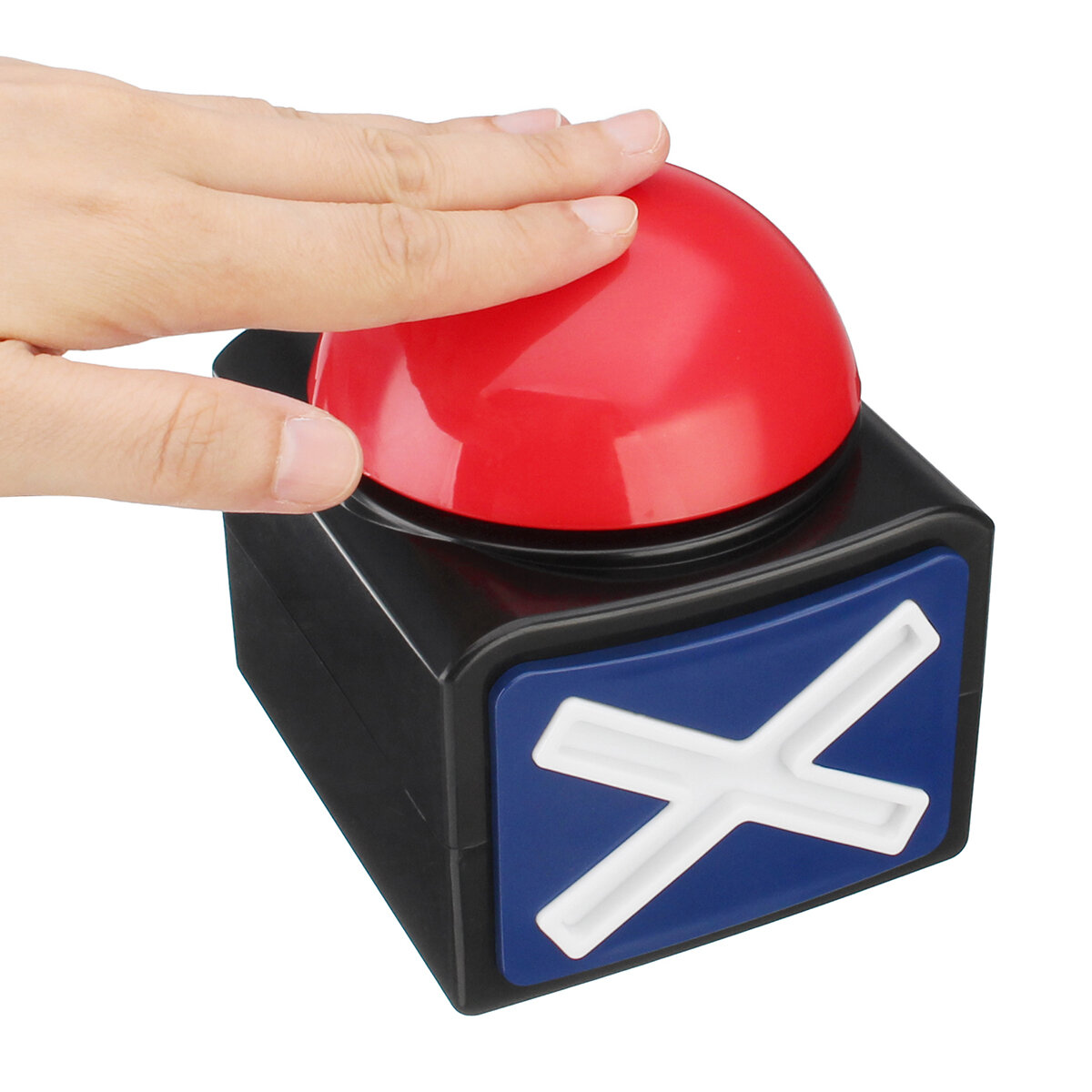 Bang good Buzzer Alarm Push Button Lottery Trivia Quiz Game Red Light With  Sound And Light