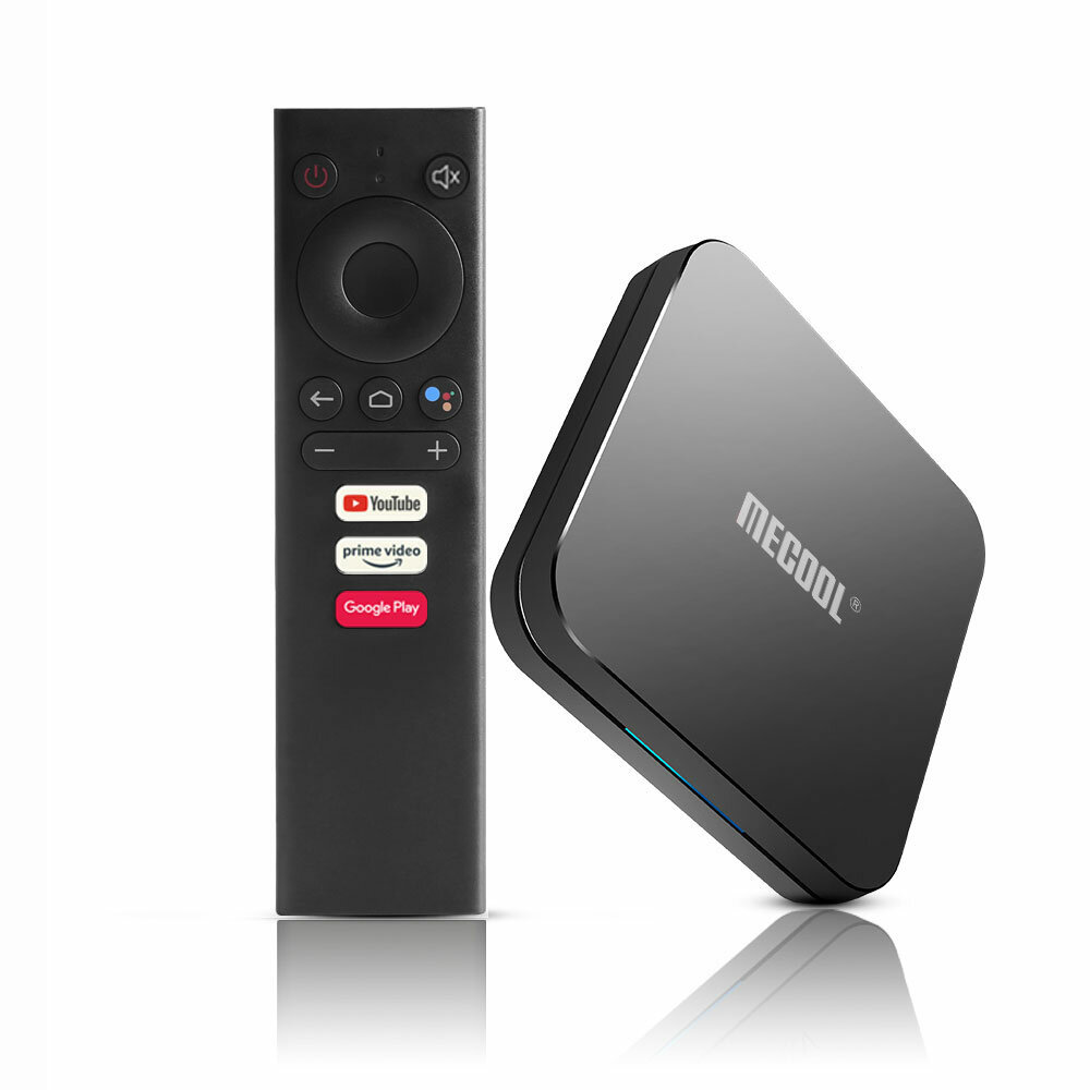 Mecool KM9 Pro ATV S905X2 4GB DDR4 RAM 32GB ROM Android 10.0 5G WIFI bluetooth 4.0 4K Voice Control TV Box Google Certificated Support 4K Youtube Prime Video