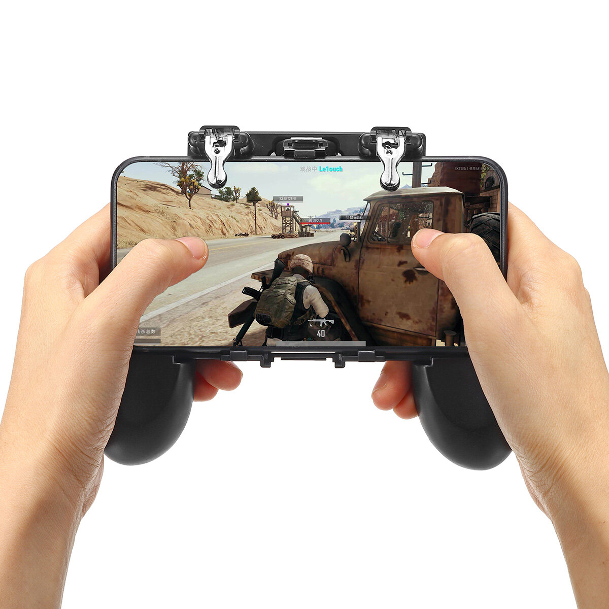 H1 Gamepad Game Controller Fire Trigger Shooter Button for PUBG Mobile Game  for Phone