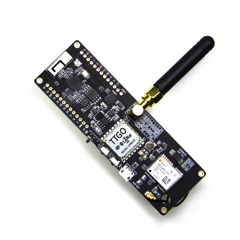 LILYGO® TTGO T-Beam ESP32 433/868 / 915Mhz Bezprzewodowy moduł Bluetooth ESP-32 GPS NEO-6M Uchwyt baterii SMA LORA 32 18650